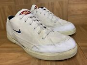 Rare🔥 Nike Gts Canvas Vintage Usa American Flag Sz 12 Menand039s 1990and039s Shoe White