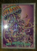 Dave Matthews West Palm Beach Jelly Lava Foil Kwok Bioworkz Signed /d Embossed