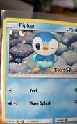 Piplup Toys R Us Promo Pokemon Card With Swirl