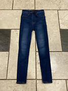 Abercombie And Fitch Womens Ultra High Rise Skinny Jeans Size 00s/24