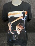 Friday The 13th Part 7 The New Blood T-shirt Size M Double Print Nwot Rare