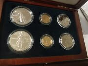 1992 Columbus Quincentenary Six Coin Silver And Gold Proof And Unc In Ogp 101