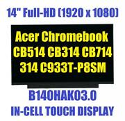 New 14 Ips Fhd Matte Ag On-cell Touch Screen Like Auo Au Optronics B140hak03.0