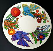 Villeroy And Boch Acapulco Cream Soup Under Plate Only Luxembourg Rare Find