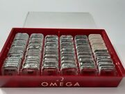 Rare 1960's-70's Box Omega Spare Parts X 92 Pieces Factory Packaging    7534