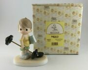 Precious Moments 2000 Believe The Impossible Care-a-van Exclusive 109487r New