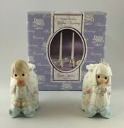 Precious Moments 2000 Wedding Accessory Candle Holders 848883 New