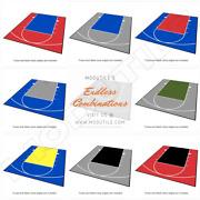 Backyard Basketball Kit - Half Court Kit 20 Ft X 24 Ft -lines And Edges Included