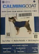 Akc - Medium 20-50 Lbs Anti Anxiety And Stress Relief Calming Coat For Dogs Blue