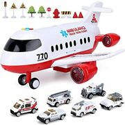 Airplane Toy, Kids Toys For 3 4 5 6 Year Old Boys Girls Toddlers, Ambulance Play