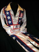Evel Knievel American Icon Autographed Signed America Usa Jumpsuit Asi Proof
