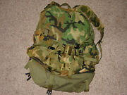 Large Military Field Packlarge With Internal Frame Camouflage Woodland