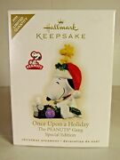 2009 Limited Quantity Once Upon A Holiday Peanuts Gang Spec. Ed. Hallmark Orn.