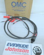 M30 Johnson Evinrude Omc 582961 Cable And Starter Switch Oem New Factory Boat Part