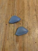 1974 - 1985 Dodge Truck Light Blue Seat Belt Bolt Covers Mopar 70and039s 80and039s Pick Up