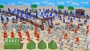 Civil War Playset 3 - The Late War - 54mm Plastic Toy Soldiers