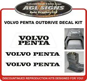Volvo Penta Stern Drive Outdrive Replacement Decal Kit