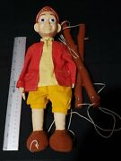 🌟the Adventures Of Pinocchio Marionette 14 /growing Nose Equity Toys 1996 Rare