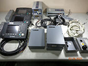 Saab Transponder Tech R4 Sperry Marine Ais Display + Power Cables Large Lot