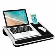 Lapgear Home Office Pro Lap Desk With Wrist Rest Mouse Pad And Phone Holder -...