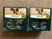 Yankee Candle Singing Carols Tea Lights 2 Boxes Christmas Scent New Fast Desp