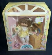Large Cabbage Patch Kids Cornsilk Hair Kids Doll With Accessories Box 3820 Rare
