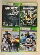 Xbox 360 Call On Duty Ghost Deadrising Battlefield 4 Madden Nfl 25 Bundle Game