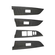 For 2008-2021 Toyota Land Cruiser Real Carbon Fiber Glass Window Lifting Panel