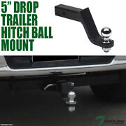 Topline 4.5 Drop Trailer Tow Hitch Loaded Ball Mount W/2 Receiver For Acura