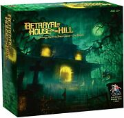 New Sealed Betrayal At House On The Hill Board Game Avalon Hill