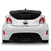 For Hyundai Veloster 12-17 Sequential Style Carbon Fiber Rear Roof Spoiler