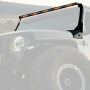 For Jeep Gladiator 20 Roof Mounted S8 50 Light Bar Kit 300w Driving/combo Beam