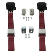 For Buick Roadmaster 54-56 2-point Airplane Buckle Retractable Bucket Seat Belts