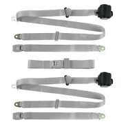For Ford Club Wagon 62-67 3-point Standard Buckle Retractable Bench Seat Belts