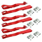 For Chevy S10 Blazer 83-84 2-point Standard Buckle Bench Lap Seat Belts With