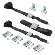 For Triumph Spitfire 63-80 2-point Airplane Buckle Retractable Bench Seat Belts
