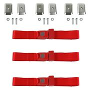 For Ford Thunderbird 67-76 2-point Standard Buckle Bench Lap Seat Belts With