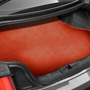 For Bmw X1 13-15 Carpeted Burned Red Cargo Mat Bench Up