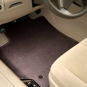 For Chevy Uplander 05-09 Carpeted 1st And 2nd Row Burgundy Floor Mats