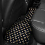 For Toyota Camry 12-17 Fashion Auto Mat Carpeted 2nd Row Onyx Floor Mat