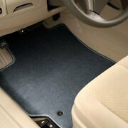 For Honda Ridgeline 17-20 Carpeted 1st And 2nd Row Steel Gray Floor Mats