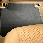For Alfa Romeo Gtv-6 81-86 Carpeted 2nd Row Charcoal Floor Mats