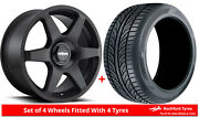 Alloy Wheels And Tyres 19 Rotiform Six For Jeep Compass [mk1] 06-16