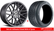 Alloy Wheels And Tyres 18 Rotiform Rse For Mitsubishi Outlander [mk1] 03-06