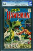 Brave And The Bold 34 Cgc 3.5 1st Hawkman / Hawkgirl Dc 1209739001