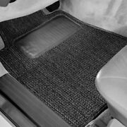 For Chrysler 300m 99-04 Sisal Auto Mat Carpeted 1st And 2nd Row Black Floor Mats