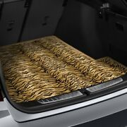 For Chevy Equinox 10-17 Safari Auto Mat Carpeted Tiger Cargo Mat Bench Down