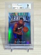 Tracy Mcgrady 1997-98 Finest Refractors Bgs 9 With 9.5 Sub /1000