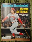 Sports Illustrated November 1, 1976 How Good Are The Reds, Hero Johnny Bench Vg