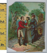 Victorian Card, 1890's, Culture And People, Man Tipping Hat A76